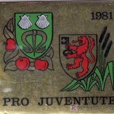 Stamps - suiza 1139c carnet, pro-juventud, escudos, - 21806223