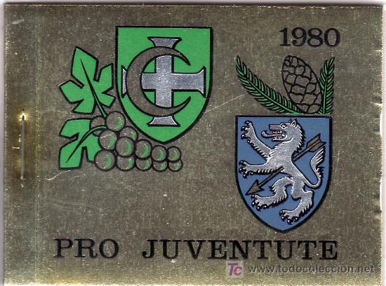 SUIZA 1117C CARNET, PRO-JUVENTUD, ESCUDOS, (Sellos - Extranjero - Europa - Suiza)