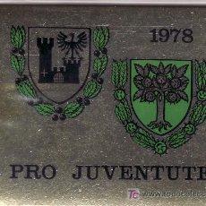 Sellos: SUIZA 1072C CARNET, PRO-JUVENTUD, ESCUDOS,. Lote 19409730