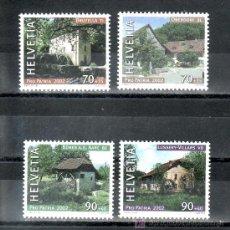 Sellos: SUIZA 1714/7 SIN CHARNELA, PRO-PATRIA, MOLINO DE AGUA,. Lote 24417259