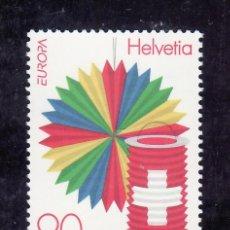 Sellos: SUIZA 1582 SIN CHARNELA, TEMA EUROPA, FIESTAS NACIONALES,. Lote 14179482