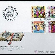 Sellos: SUIZA AÑO 1989 YV 1329/32 SPD - PRO PATRIA - 700 AÑOS DE ARTE Y CULTURA (II). Lote 14429811