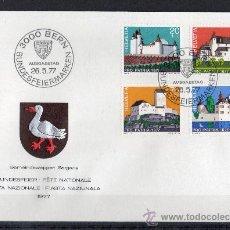 Stamps - SUIZA - SPD - AÑO 1977 - PRO PATRIA - CASTILLOS Y PALACIOS SUIZOS - 14922263