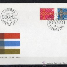Sellos: SUIZA - SPD - AÑO 1971 - EUROPA-CEPT . Lote 14922316