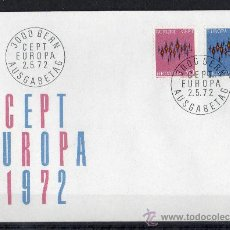 Sellos: SUIZA AÑO 1972 YV 899/00 SPD - EUROPA. Lote 14928790