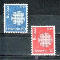 Sellos: SUIZA 855/6 SIN CHARNELA, TEMA EUROPA, . Lote 17065253