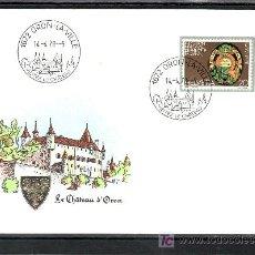 Sellos: SUIZA 1046 PRIMER DIA, LEMANEX 78, EXPOSICION NACIONAL DE FILATELIA, . Lote 18764241