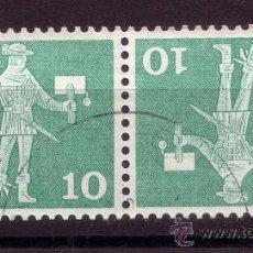 Sellos: SUIZA 644C - AÑO 1960 - ANTIGUO CARTERO. Lote 22427106