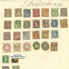 Sellos: (SE-135)LOTE DE SELLOS DE SUIZA. Lote 22845387