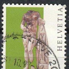 Sellos: SUIZA, IVERT 1533, ARTE ROMANO (ESTATUA DE VENUS), USADO. Lote 25582285