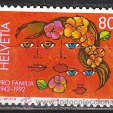 Sellos: SUIZA IVERT 1396, 50 ANIVERSARIO DE LA ORGANIZACIÓN PRO PATRIA, NUEVO. Lote 25774544