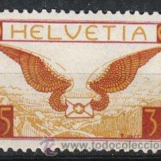 Sellos: SUIZA IVERT AEREO 12A (PAPEL ORDINARIO), NUEVO CON SEÑAL DE CHARNELA . Lote 26433844