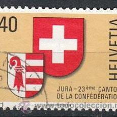 Stamps - Suiza Ivert 1071, JURA, usado (serie completa) - 26846301