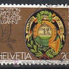 Sellos: SUIZA IVERT 1046, LEMANEX 78, USADO (SERIE COMPLETA). Lote 26846525