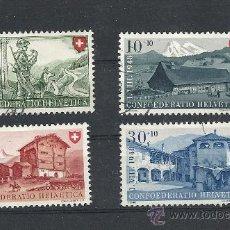Sellos: SUIZA 1948, FIESTA NACIONAL PRO PATRIA, ZUMSTEIN Nº 38/41. Lote 27682138