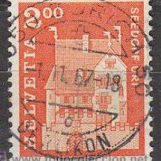 Sellos: SUIZA IVERT 796, CASTILLO DE A PRO EN SEEDORF, USADO. Lote 27869731