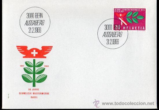 SUIZA AÑO 1966 YV 767 SPD ACONTECIMIENTOS DIVERSOS (Sellos - Extranjero - Europa - Suiza)