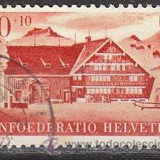 Sellos: SUIZA IVERT 430, FIESTA NACIONAL 1946, USADO. Lote 28987686
