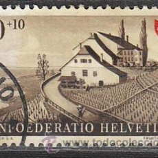 Sellos: SUIZA IVERT 429, FIESTA NACIONAL 1946, USADO. Lote 28987697