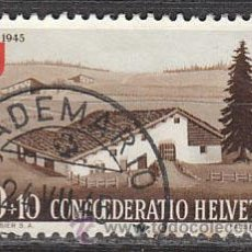 Stamps - Suiza Ivert 420, granja de Jura, usado - 29229872