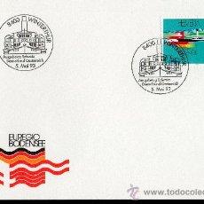 Sellos: SUIZA AÑO 1993 YV 1427 SPD - EUREGIO BODENSEE - BARCOS - TRANSPORTES - EMISIÓN CONJUNTA. Lote 29331766