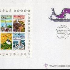 Sellos: SUIZA AÑO 1987 YV HB 27 SPD 200 ANVº DEL TURISMO EN SUIZA - ARQUITECTURA - IGLESIAS - CASTILLOS. Lote 29342388