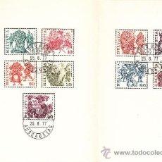 Sellos: SUIZA 1033/41 LIBRITO PRIMER DIA, COSTUMBRES POPULARES, . Lote 32833926