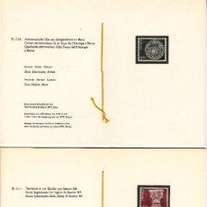 Sellos: SUIZA 1090/1 LIBRITO SIN CHARNELA, ARTESANIA, RELIGION, FUENTE BAUTISMAL, CUADRANTE ASTRONÓMICO. Lote 32808040