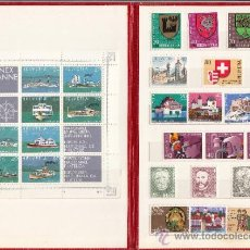 Sellos: SUIZA 1046/75 (30 SELLOS) SIN CHARNELA, AÑO 1978 VALOR CAT 29.20 EUROS +. Lote 32833795