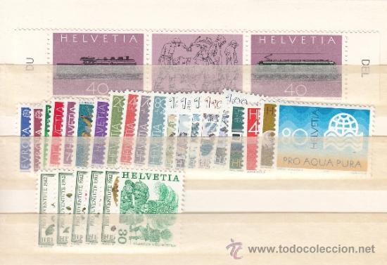 SUIZA 1143/70 SIN CHARNELA, AÑO 1982 VALOR CAT 33.00 € + (Sellos - Extranjero - Europa - Suiza)