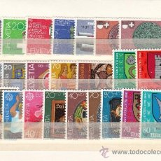 Sellos: SUIZA 1121/42, A 48 SIN CHARNELA, AÑO 1981 VALOR CAT 27.35 € +. Lote 33125065