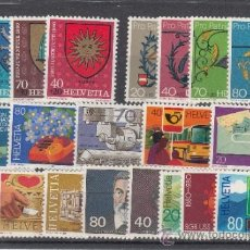 Sellos: SUIZA 1100/20 SIN CHARNELA, AÑO 1980 VALOR CAT 21.10 € +. Lote 33125079