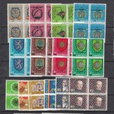 Sellos: SUIZA 1100/20 EN B4 SIN CHARNELA, AÑO 1980 VALOR CAT 84.40 € +. Lote 33125092