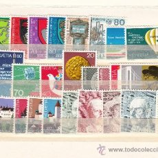 Sellos: SUIZA 1076/99 SIN CHARNELA, AÑO 1979 VALOR CAT 32.40 € +. Lote 33125106