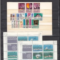 Stamps - suiza 1046/75, hb 23 sin charnela, año 1978 valor cat 36.20 € + - 33125130