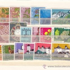 Sellos: SUIZA 999/1016 SIN CHARNELA, AÑO 1976 VALOR CAT 17.25 € +. Lote 33125170