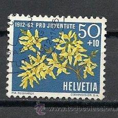 Sellos: SUIZA 1962, ZUMSTEIN Nº 197, PRO JUVENTUD. USADO. Lote 33262624