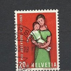 Sellos: SUIZA 1962, ZUMSTEIN Nº 195, PRO JUVENTUD. USADO. Lote 33262916