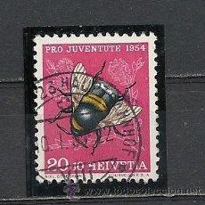 Sellos: SUIZA 1954, ZUMSTEIN Nº 155, PRO JUVENTUD. MATASELLADO. Lote 33371657