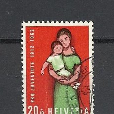 Sellos: SUIZA 1962, ZUMSTEIN Nº 195, PRO JUVENTUD. USADO. Lote 33683685