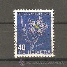 Sellos: LOTE A2 SELLOS-SELLO SUIZA--USADO-IVERT Nº 496 VALOR CATALOGO 9 EUROS AÑO 1949. Lote 35023745