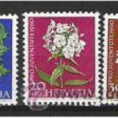 Sellos: 650-SERIE COMPLETA SUIZA 1960.Nº668/72. 8,50€ HELVETIA.. Lote 35700090