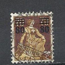 Sellos: SUIZA 1915, ZUMSTEIN Nº 135, AUFBRAUCHSAUSGABE.. Lote 36430495