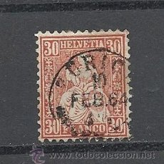 Sellos: SUIZA 1862, ZUMSTEIN Nº 33.. Lote 36430884
