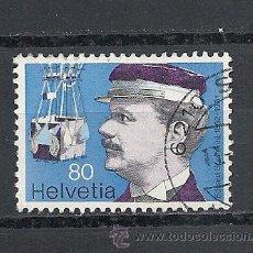 Stamps - SUIZA 1977,ZUMSTEIN Nº 583, PIONEROS DE LA AVIACION, MATASELLADO - 39928536