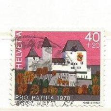Stamps - Suiza 1978. Castillos: Burgdorf (Bern Canton) - 40726556