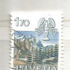 Sellos: SUIZA 1983. HORÓSCOPOS, CÁNCER. Lote 53434688
