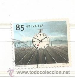 SUIZA 2003. RELOJ DE LA ESTACIÓN, HANS HILFIKER (1901-93) (Sellos - Extranjero - Europa - Suiza)