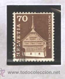 SUIZA 1967 - YVERT NRO. 795 - USADO (Sellos - Extranjero - Europa - Suiza)