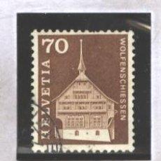Sellos: SUIZA 1967 - YVERT NRO. 795 - USADO. Lote 40980888